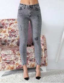 Siyah Yüksek Bel Kadın Jean Pantolon
